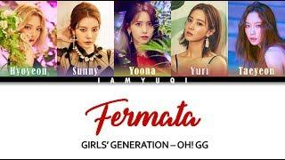 Girls' Generation-Oh!GG - (Fermata) Lyrics Color Coded [HAN/ROM/ENG]