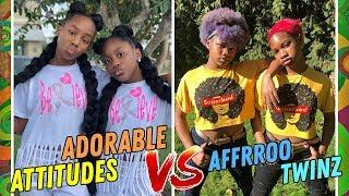 Adorable Attitudes VS Affrroo Twinz ???? Girls Dance Battle ???? Best Instagram Compilation