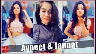 Avneet Kaur & Jannat Zubair Rahmani Musically Video | Indian Girls TikTok Musically | Top Musically