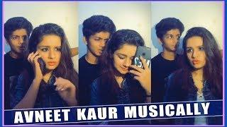 Avneet Kaur With His Brother Musically Video 2018 - Musically Indian Girls Funny - Top Musically