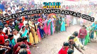 Crazy Moments Adivasi Girls Dance // Marriage dance // Arjun R Meda // Gujrati Timli Song