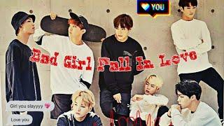 BTS FF INDO { Bad Girl Fall In Love } Eps. #14