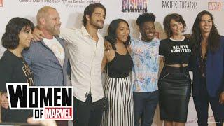 A Star-Studded Red Carpet Premiere of Marvel Rising: Secret Warriors | Women of Marvel
