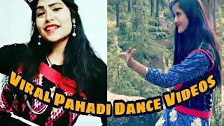 New WhatsApp Viral pahadi Dance Videos By Himachali Girls।।Pahadi Songs, Shimla Nati, Himachali Song