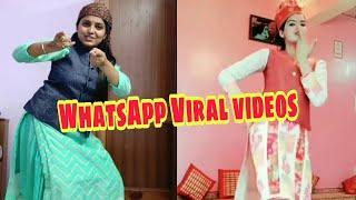 New WhatsApp Viral Pahadi Dance Videos by girls।। Pahadi Songs, Nati sirmori, Pahadi nati