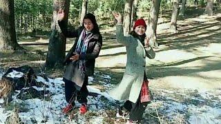 Sahi pakde hai ye lagi nati | beautiful pahadi girls dance |