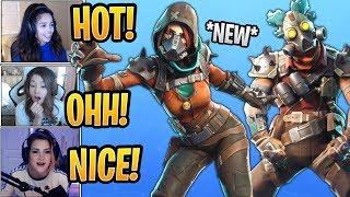 Girls LOVE the *NEW* Mayhem Skin and React to the Ruckus Skin! - Fortnite Best and Funny Moments
