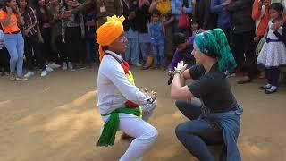 Girls Dance at Surajkund mela live