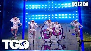 The Globe Girls Take On Superbowl! | The Greatest Dancer