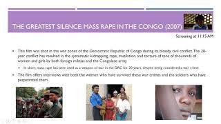 2019 03 01 12 01 International Women's Day Film Festival  Exposing Violence Against Women