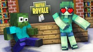 Monster School : GIRLS VS BOYS FORTNITE DANCE CHALLENGE - Minecraft Animation
