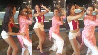 Shraddha Kapoor Belly Dance With Dilbar Girl Nora Fatehi | Street Dancer 3 | ABCD 3