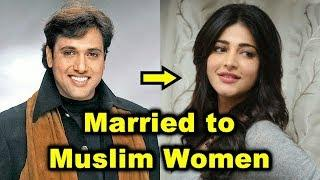13 Non-Muslim Bollywood Actors Who Married Muslim Women - 2018