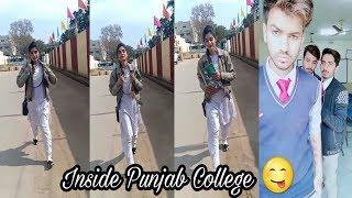 Inside Punjab College Boys Girls TikTok Musically Video Part 37| TikTok Pakistan HD