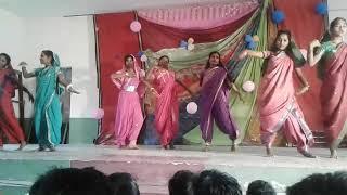 Senior Girls Dance on stage ||| School Programme Dance video |||