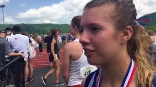 Video: Janesville Craig's Peyton Sippy wins the girls 3,200