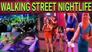 WALKING STREET NIGHTLIFE OF PATTAYA | GIRLS, DANCE, DRINK & PARTY PLACE