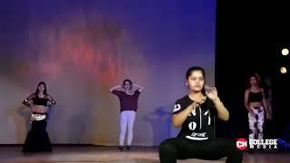 Engineering college girls dance performance