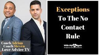 Exceptions To The No Contact Rule