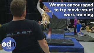 Women encouraged to try movie stunt work training