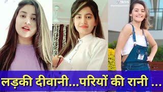 Priyanka mongia & beautifull girl dance comedy tiktok video chamma chamma , naazuk best musically