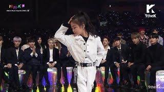 Na Haeun | BLACKPINK & WANNA ONE WIN THE BEST DANCE @ Melon Music Awards 2018 #MMA_2018