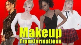 Makeup transformations into beautiful women in their twenties around the world   AmaterasuEVE