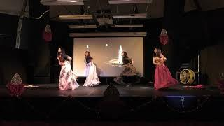 Ukiah Diwali Party2018,  Girls dance