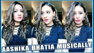 Aashika Bhatia New Best Musically Video 2018 - Cute Indian Girls Musically - Top Musically