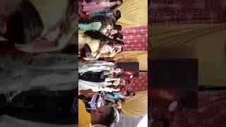 Girls Dance in Wedding Party