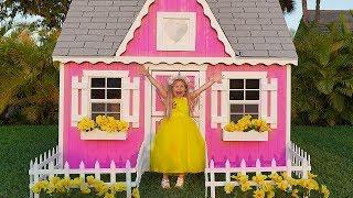 Diana and New Playhouse, Beautiful toys for girls
