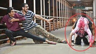 Real Ghost Girl Prank - DON'T MISS IT | Pranks In India | The Japes