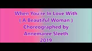 IN LOVE WITH A BEAUTIFUL WOMAN -   line DANCE by annemaree sleeth 2019