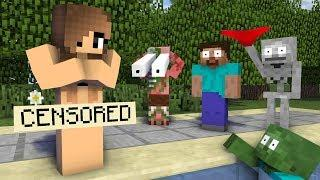 Monster School: GIRLS VS BOYS LOVE SWIMMING CHALLENGE - Minecraft Animation