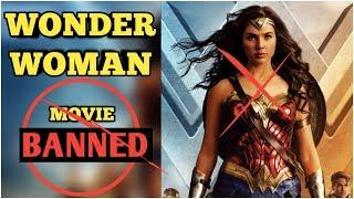 wonder woman film banned some country, dc universe, dc super girl