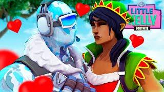 FROSTBITE FALLS IN LOVE WITH TINSEL TOES - Fortnite Short Film
