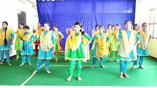 6th+7th Girls Dance performance from M.V.N School Choreography by || Amit kumar ||