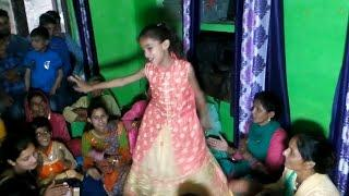 Little Cute Sirmouri Girl Pahari Dance in Marriage
