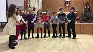 2018 Greek School Christmas Girls Dance