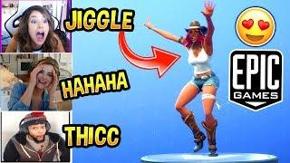 Pokimane & Girls STREAMERS *LOVE* Calamity Skin | NEW JIGGLE BUG (ʘ_ʘ) Fortnite FUNNY Moments
