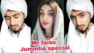 Mr faisu Jumma special | musically video | with Girls Duet | Faiz&shifu | Hasnain&zara Tik Tok India