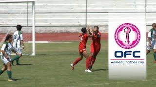 2018 OFC WOMEN'S NATIONS CUP | GROUP B HIGHLIGHTS | Tonga v Cook Islands