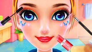 Fun Girl Care - Roller Skating Girls - Dance on Wheels, Beauty Salon Makeup, DressUp, Makeover Games