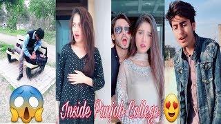 Inside Punjab College Boys Girls TikTok Musically Video Part 36| TikTok Pakistan HD
