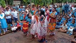 Jhuli Jhuli Asuche re Kalabadan  School Girls Dance odia Sambalpuri  Hit bhajan Songs