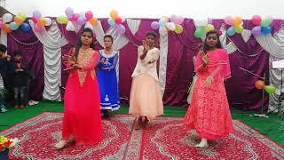New year 2019 Youth Girls Dance  in Abundant Life Church Mandhiala