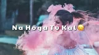 Hawayein Female Version - Girls Love Status - Lyrics Status Video
