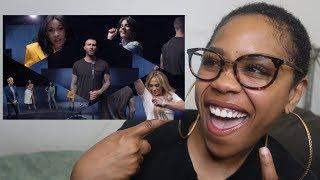 MAROON 5 - GIRLS LIKE YOU FT. CARDI B (OFFICIAL MUSIC VIDEO) REACTION | REVIEW !!