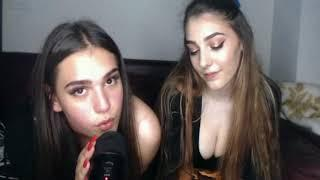 2 Girls, One Mic - Tapping Video - Scratching on Mic - Mouth Sounds- Other Triggers