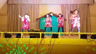 KCBOT Christmas 2018 junior girls dance(Eline,Maria,Christine,Annmiya)